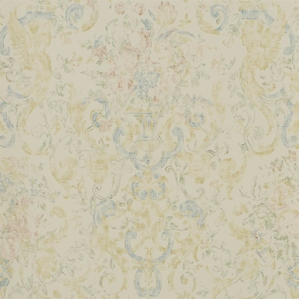 Old Hall Floral - Fresco Wallpaper