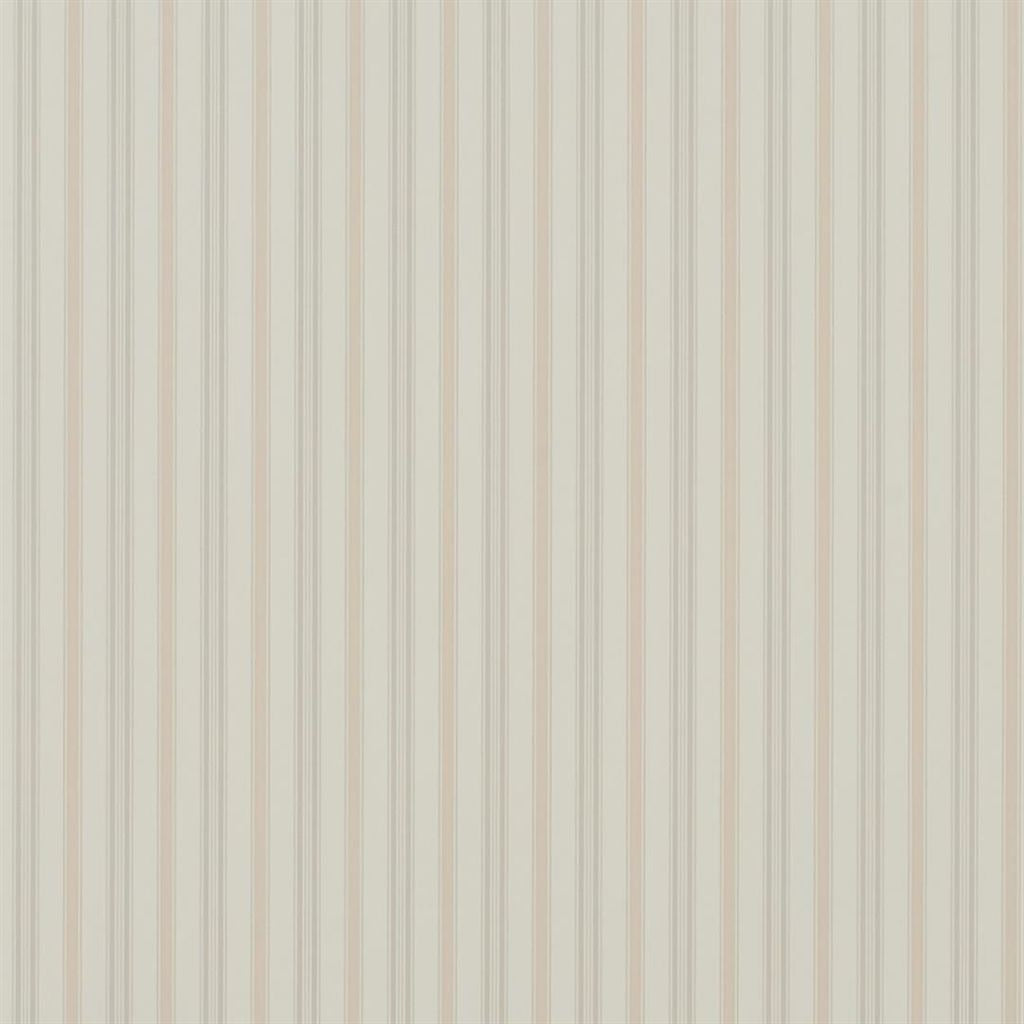 Basil Stripe - Antique Rose Wallpaper