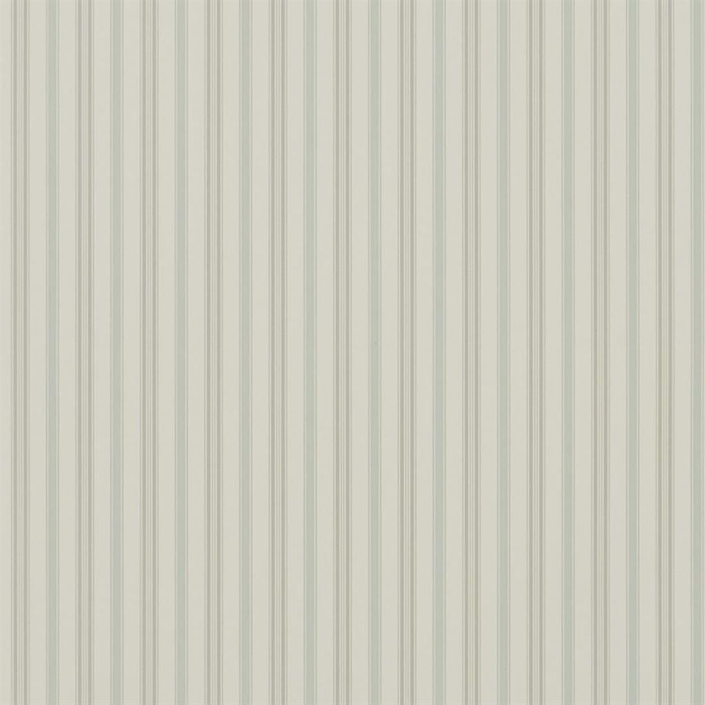 Basil Stripe - Bluestone Wallpaper