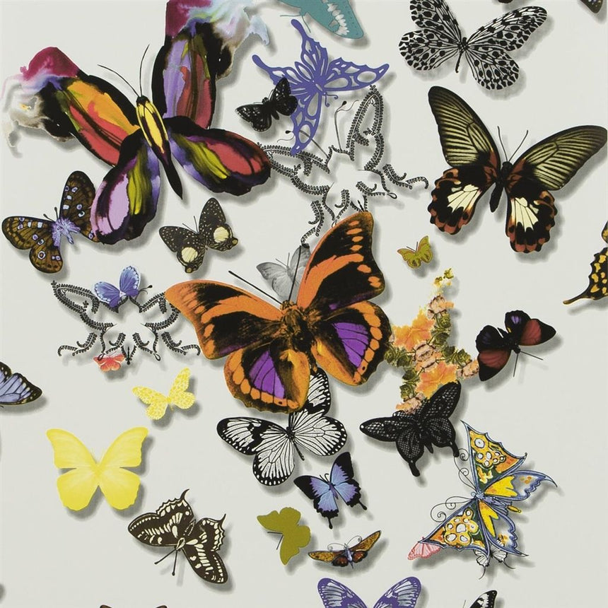 Butterfly Parade - Multicolore Wallpaper Wallpaper