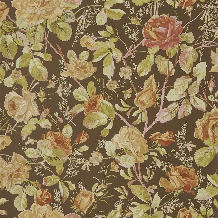 Marston Gate Floral - Java Wallpaper