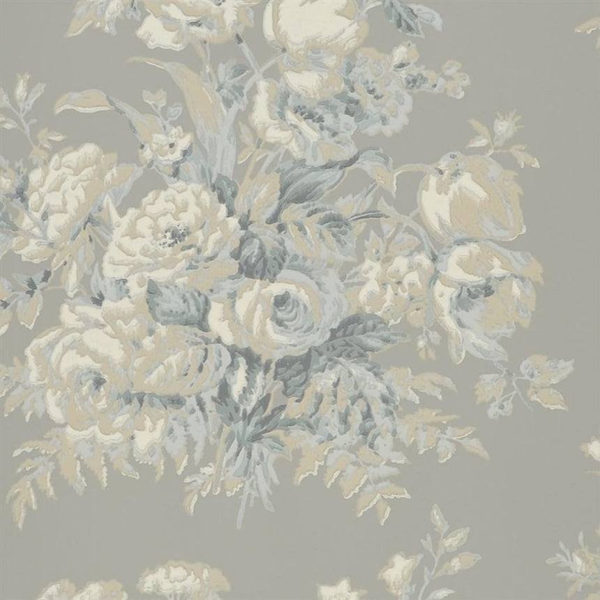 Francoise Bouquet - Slate Wallpaper
