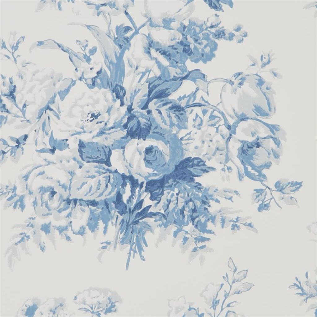 Francoise Bouquet - Porcelain Wallpaper
