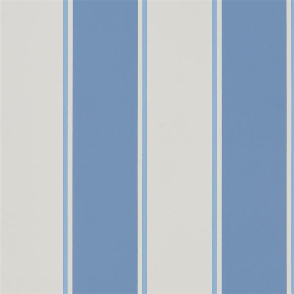 Mapleton Stripe - Porcelain Wallpaper