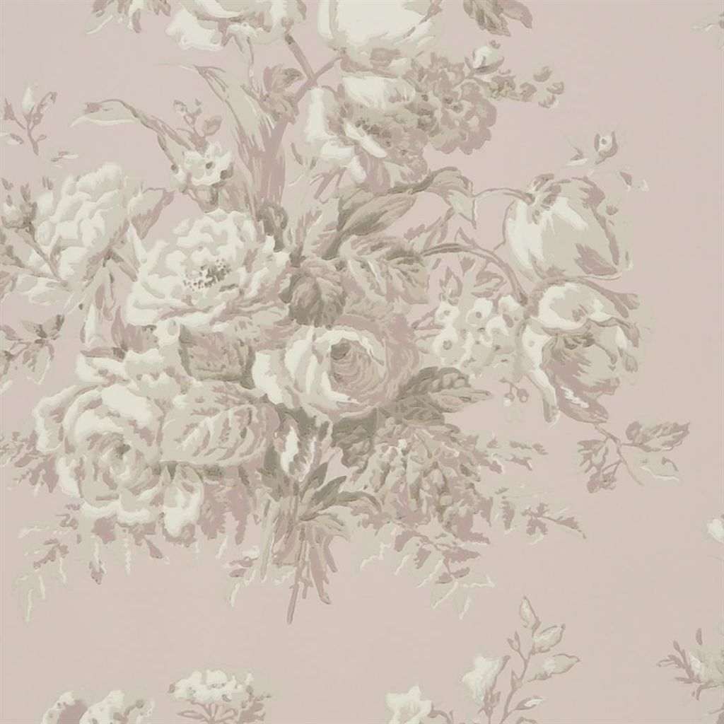 Francoise Bouquet - Mauveine Wallpaper