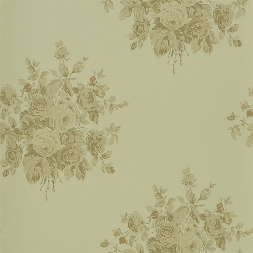 Wainscott Floral - Meadow Wallpaper