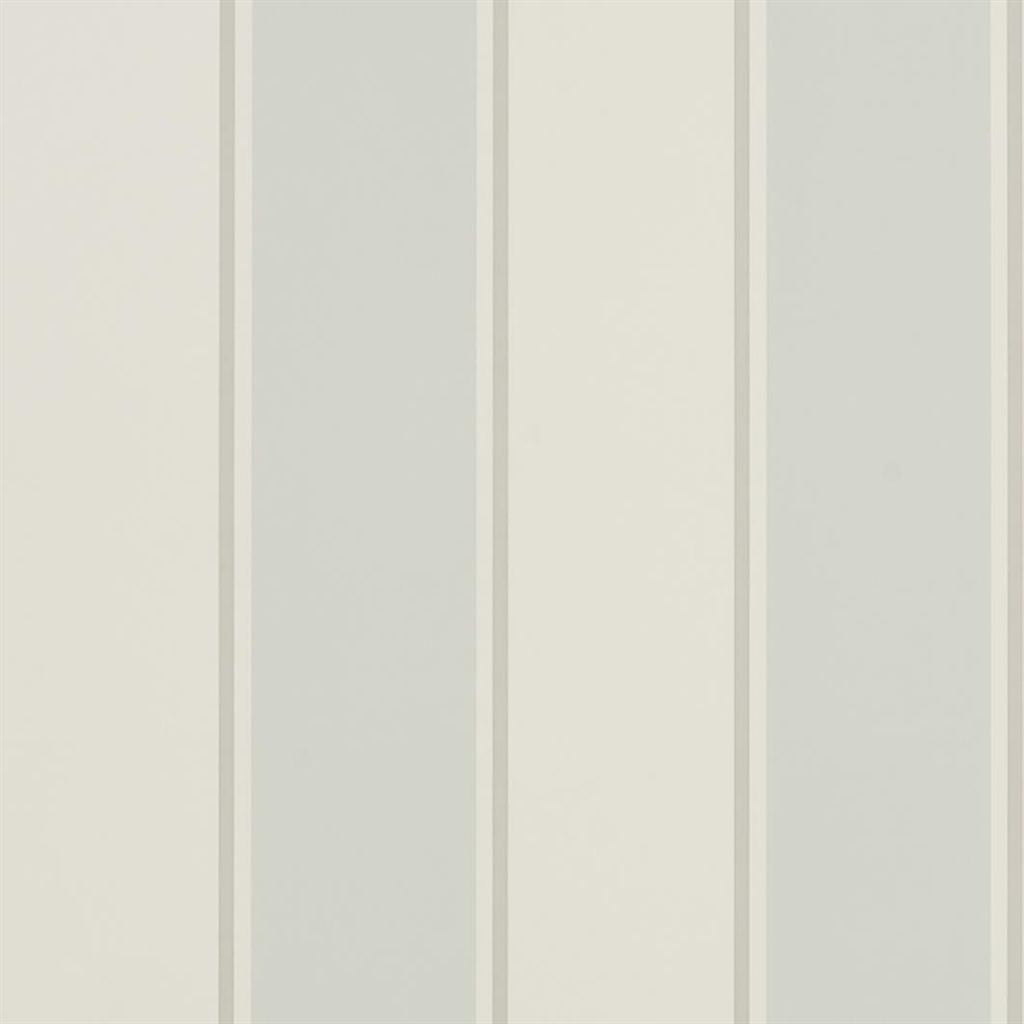 Mapleton Stripe - Bluestone Wallpaper