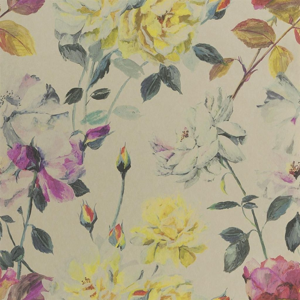 Couture Rose - Tuberose Wallpaper