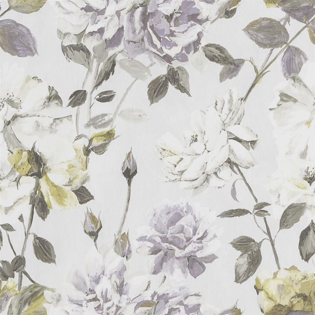 Couture Rose - Mauve Wallpaper