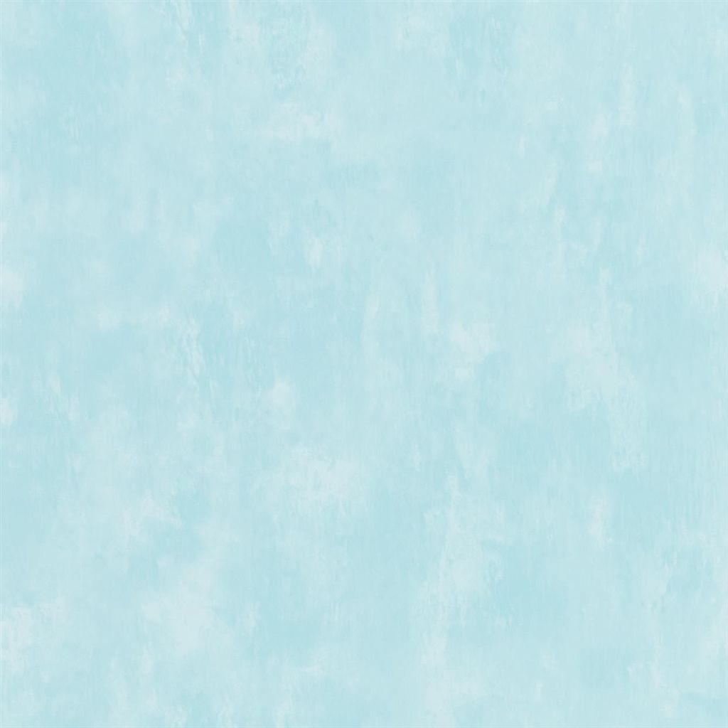 Parchment - Aqua Wallpaper