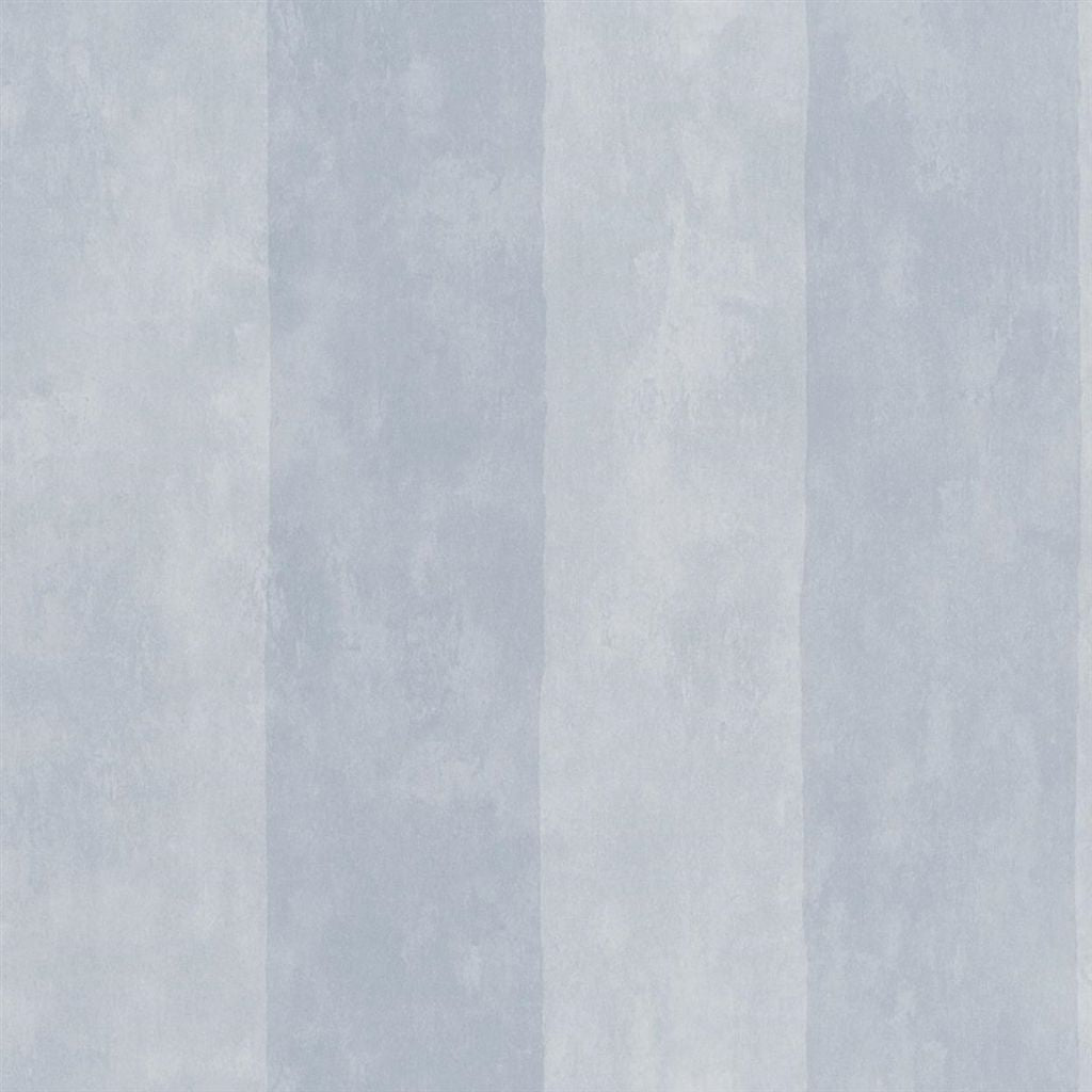 Parchment Stripe - Burnished Pewter Wallpaper