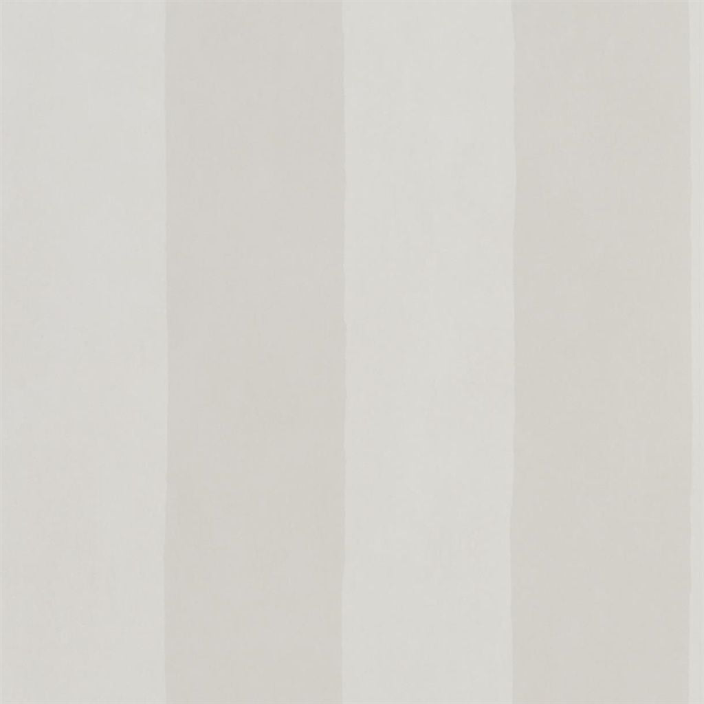 Parchment Stripe - Oyster Wallpaper