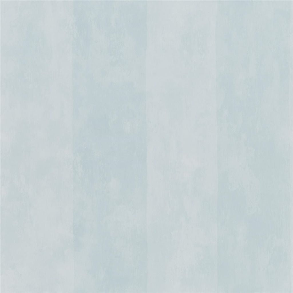 Parchment Stripe - Celadon Wallpaper