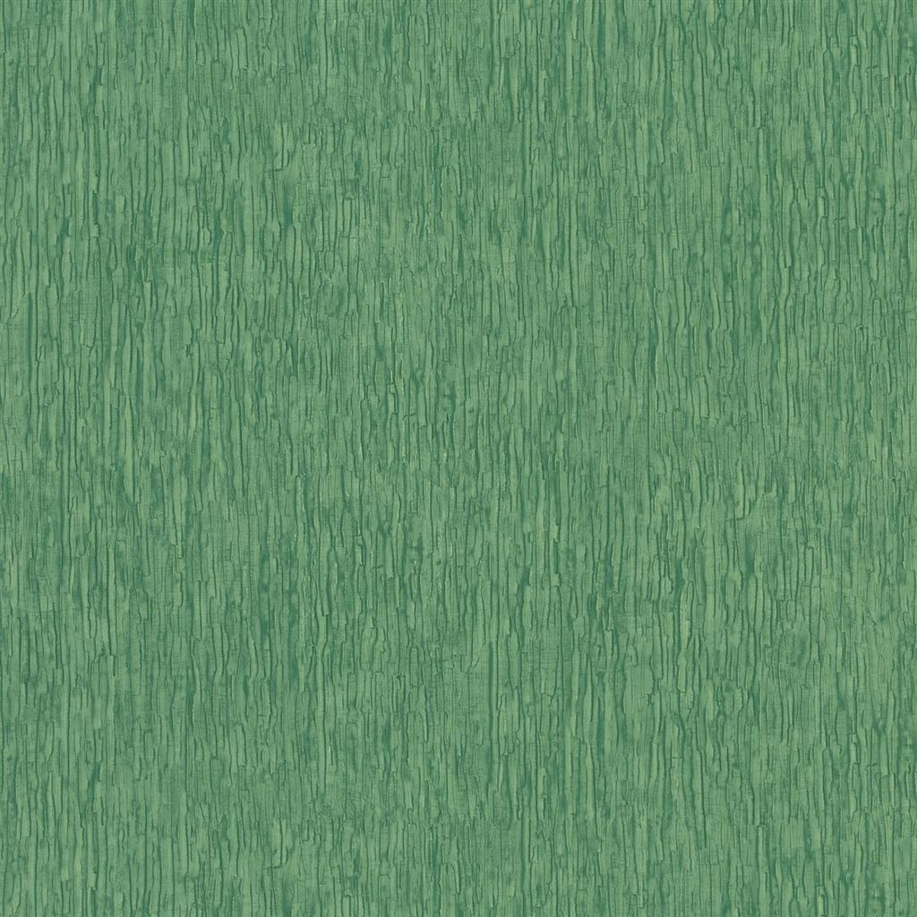 Sashiko Emerald Wallpaper
