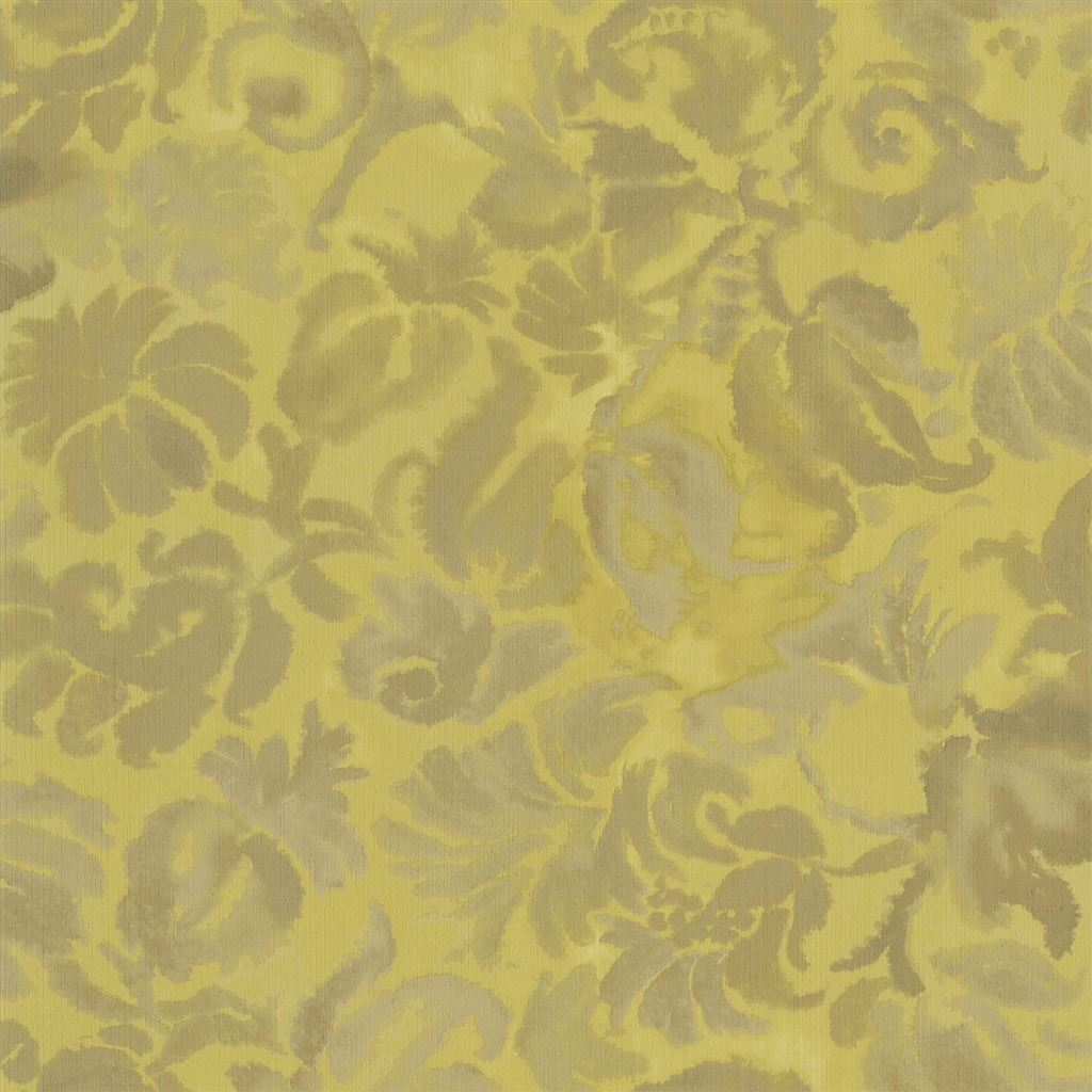 Katagami Ochre Wallpaper