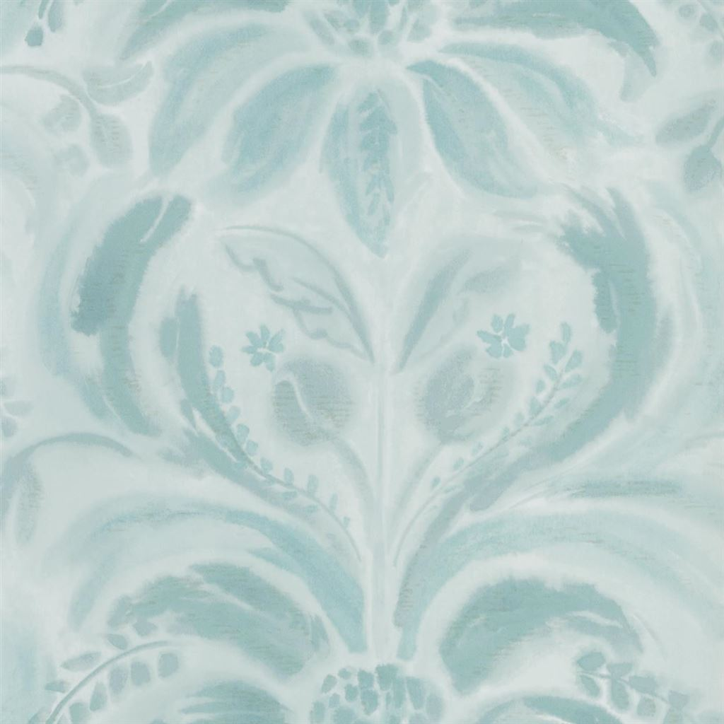 Angelique Damask Jade Wallpaper