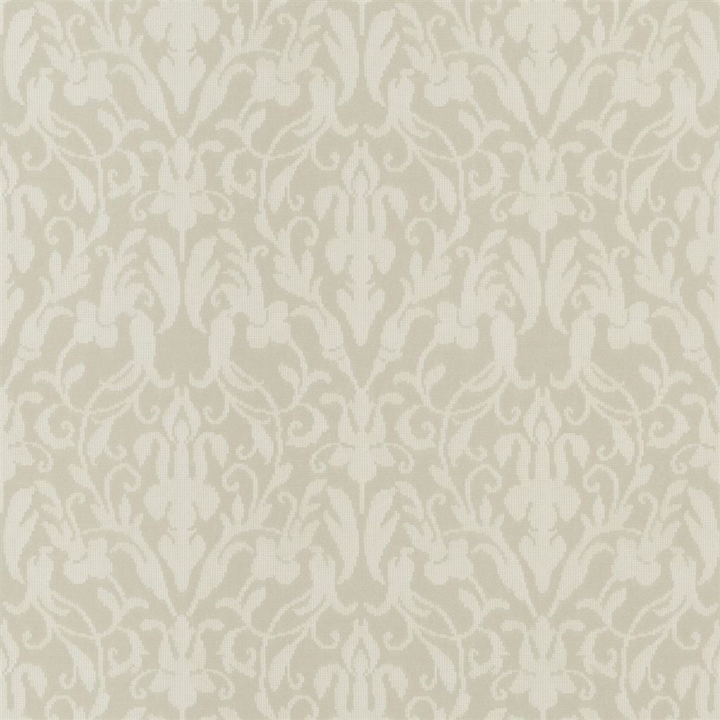 Speakeasy Damask Cream Wallpaper