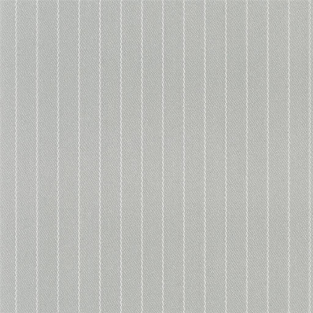 Langford Chalk Stripe Light Grey Wallpaper