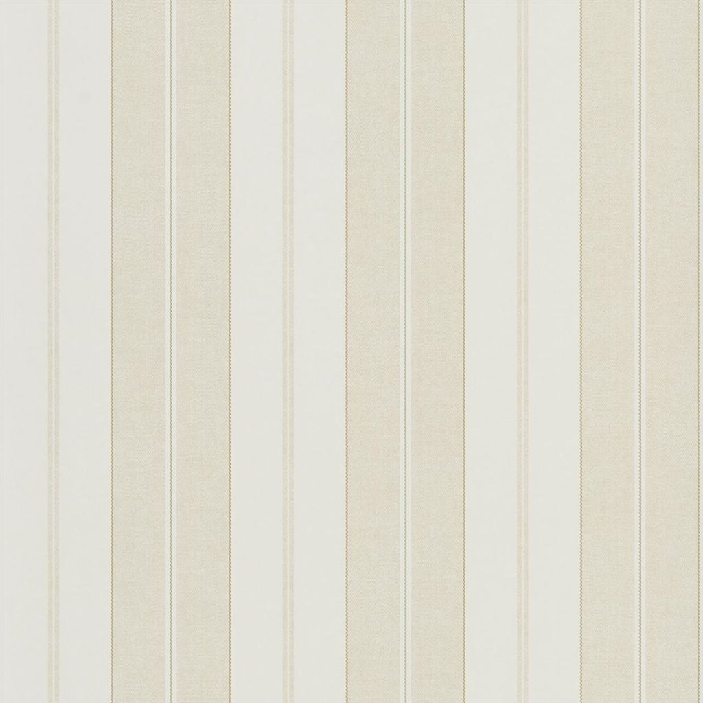 Monteagle Stripe Cream Wallpaper