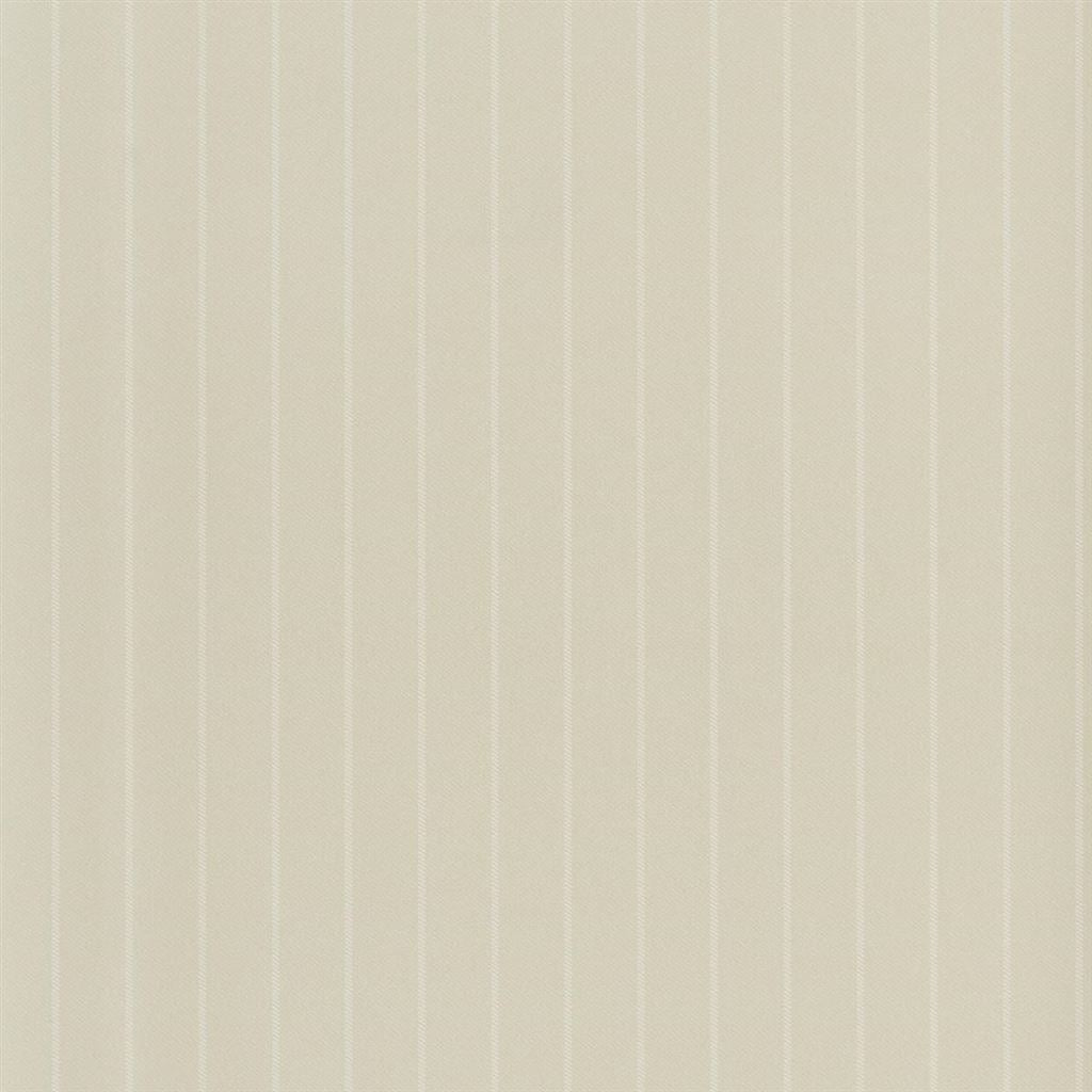 Langford Chalk Stripe Cream Wallpaper