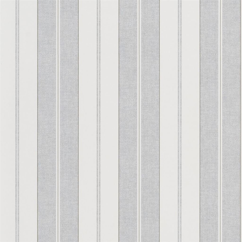 Monteagle Stripe Light Grey Wallpaper