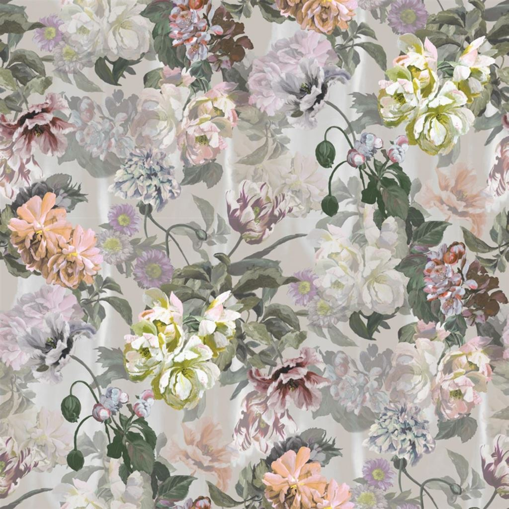 Delft Flower Grande Tuberose Wallpaper