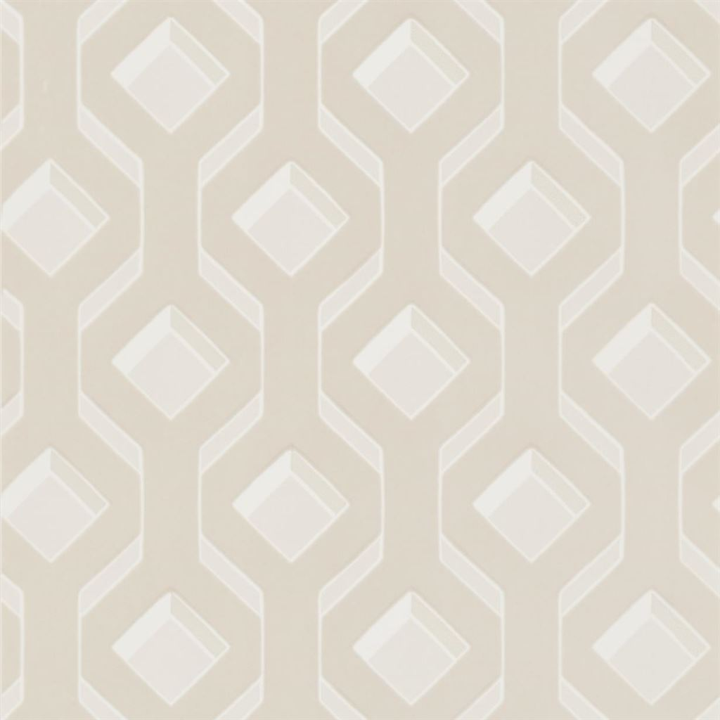 Chareau Ivory Wallpaper