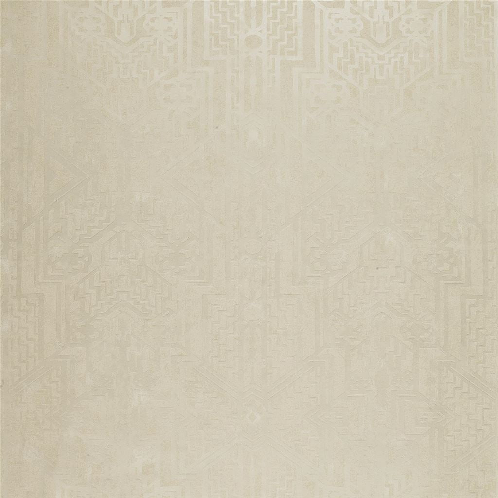 Brandt Geometric Cream Wallpaper