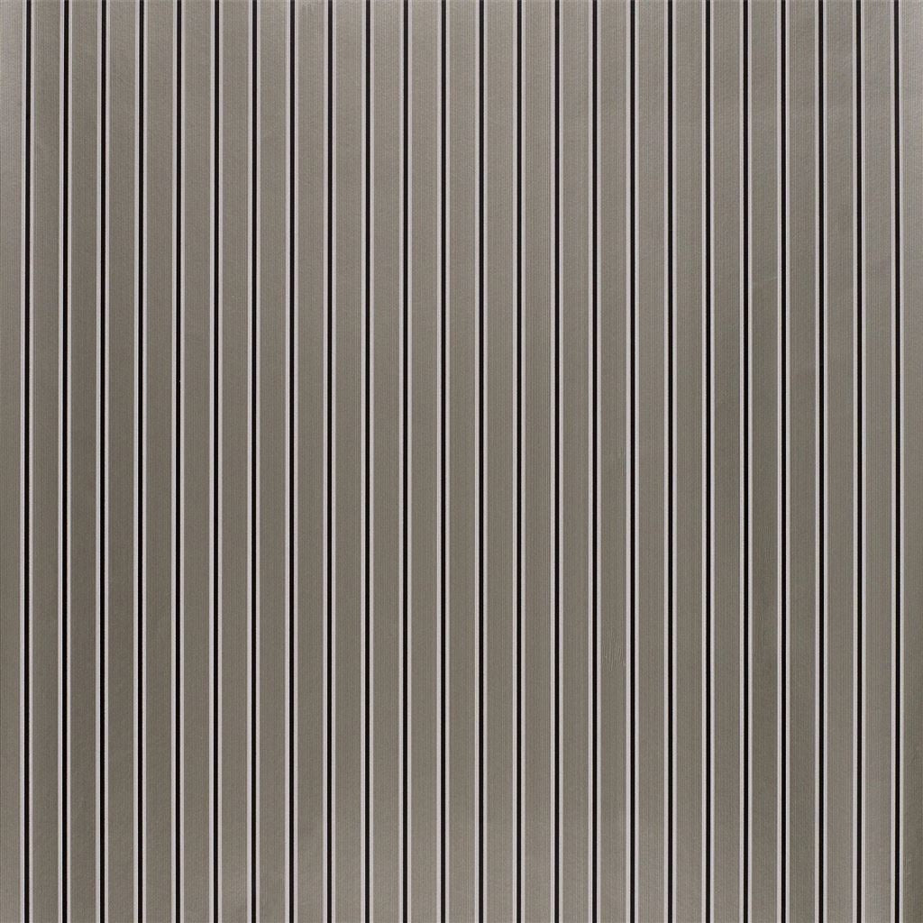 Carlton Stripe Pewter Wallpaper