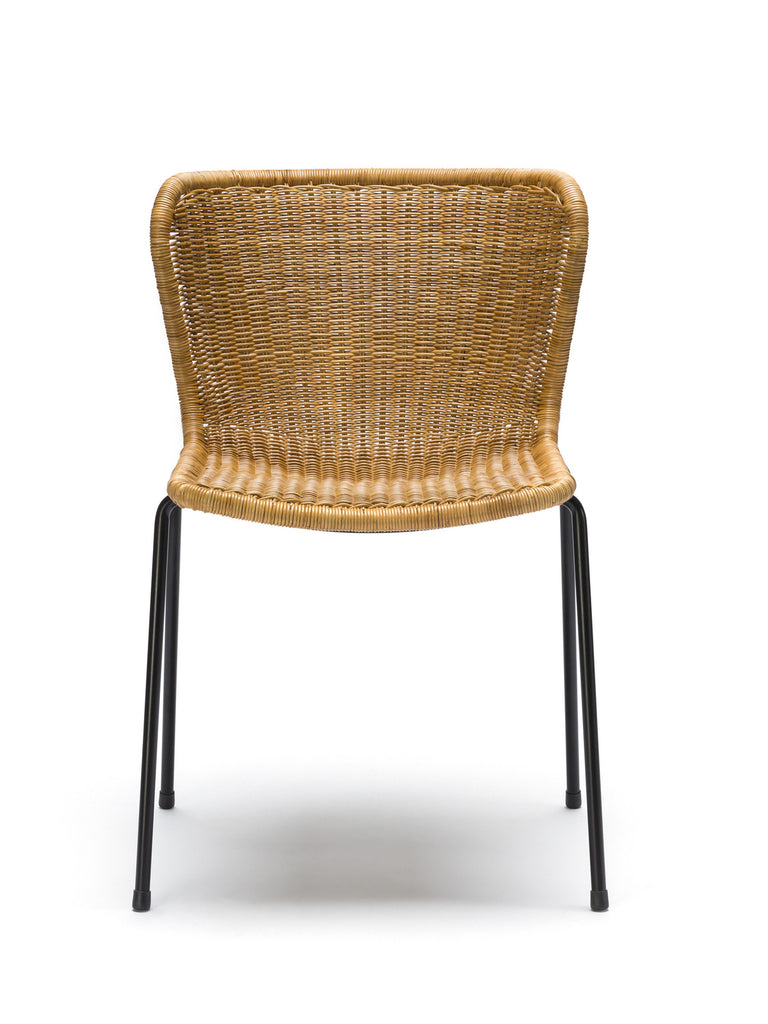 C603 chair indoor (rattan pulut) front