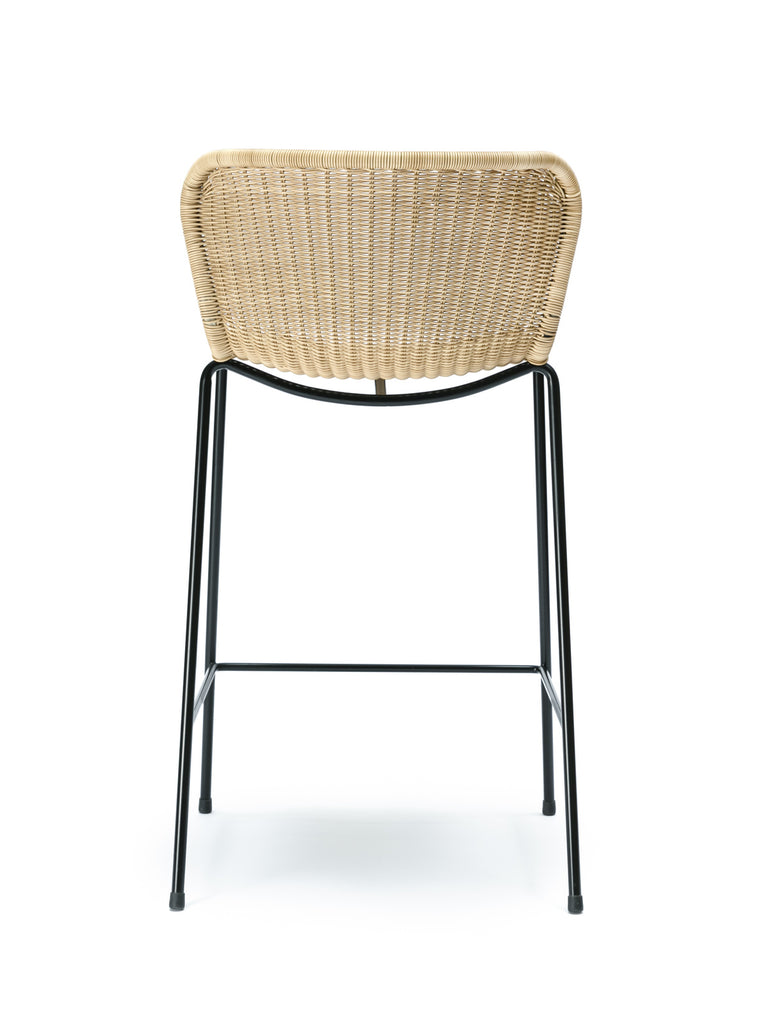 C603 stool outdoor (wheat) back
