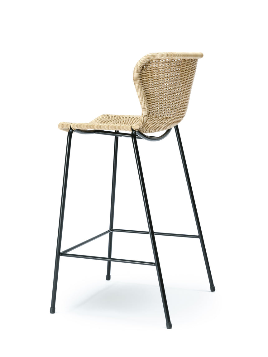 C603 stool outdoor (wheat) back angle