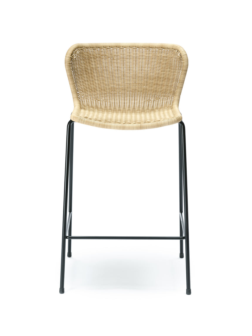 C603 stool outdoor (wheat) front