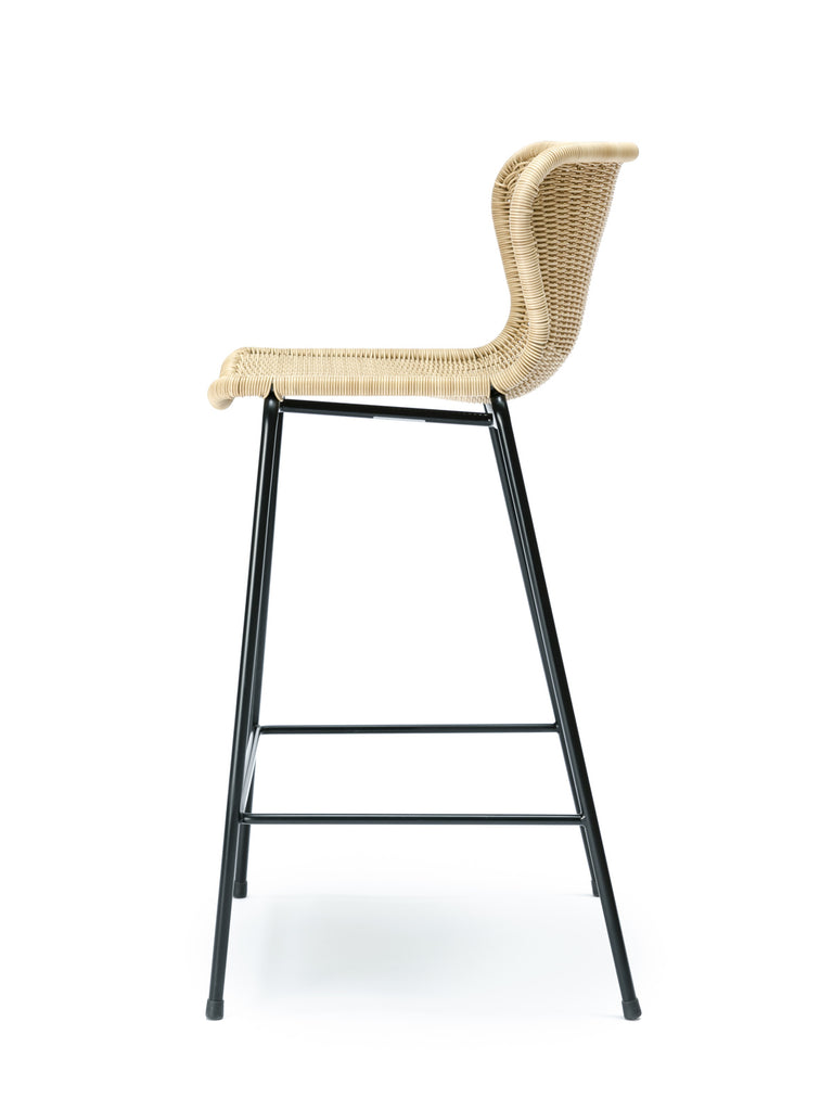 C603 stool outdoor (wheat) side