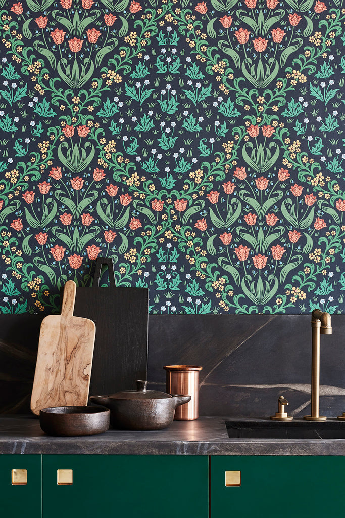 Tudor Garden Wallpaper by Cole and Son