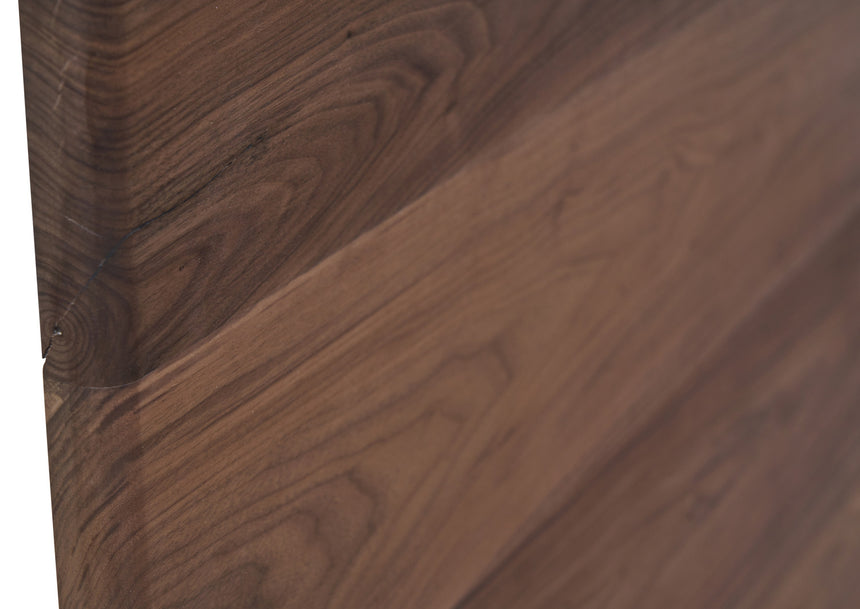 close up of join on divine bed solid timber