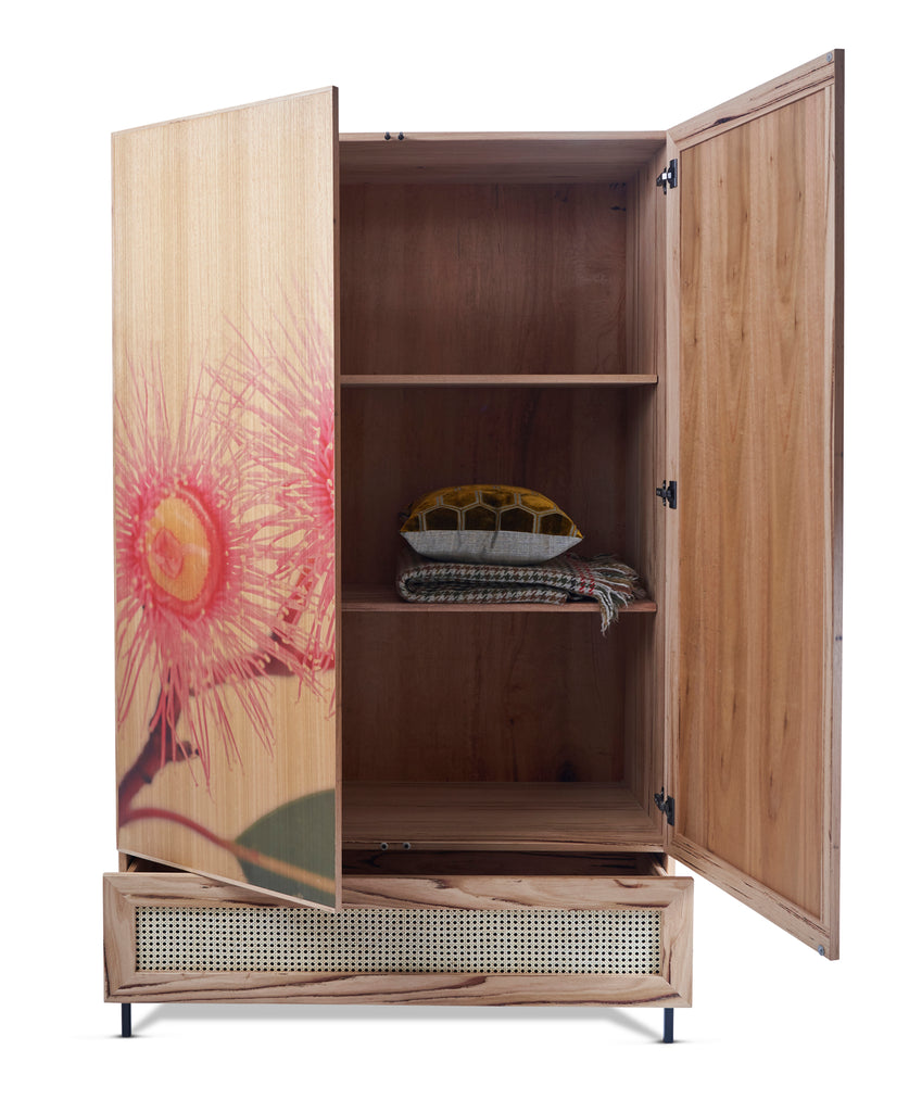 Crackers Cupboard with digital print from Feliz Home