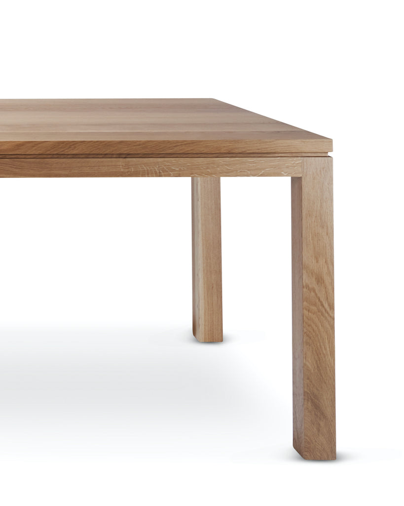 Linda Rectangle Dining Table in American Oak