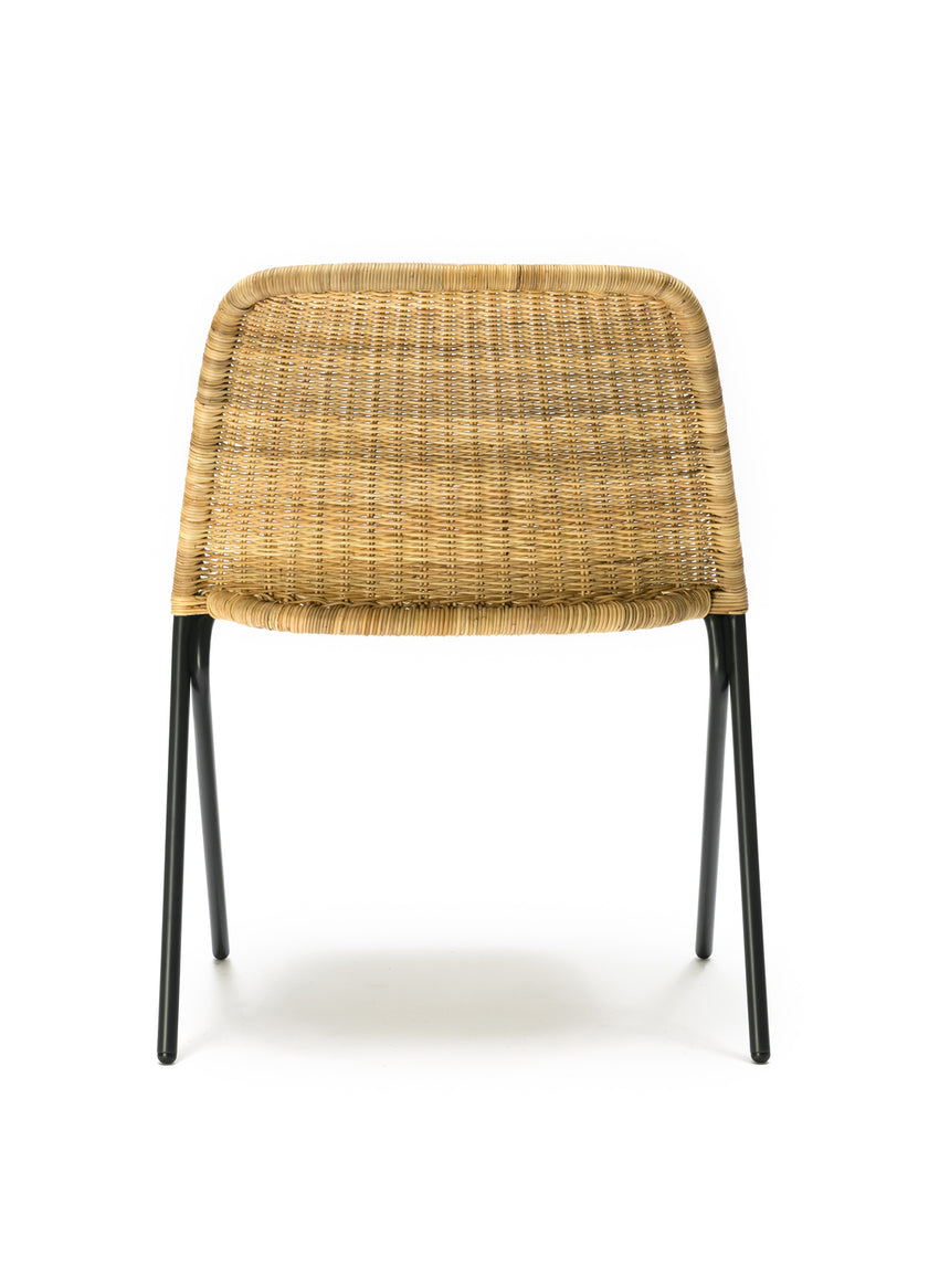 Kakī chair (natural rattan slimit) back