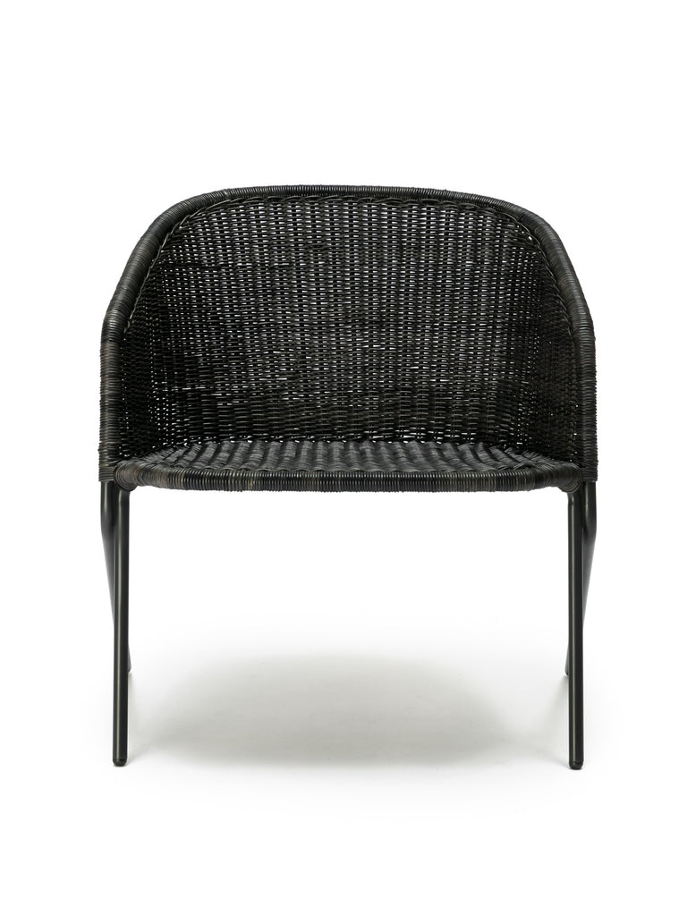 Kakī lounge chair (graphite) front