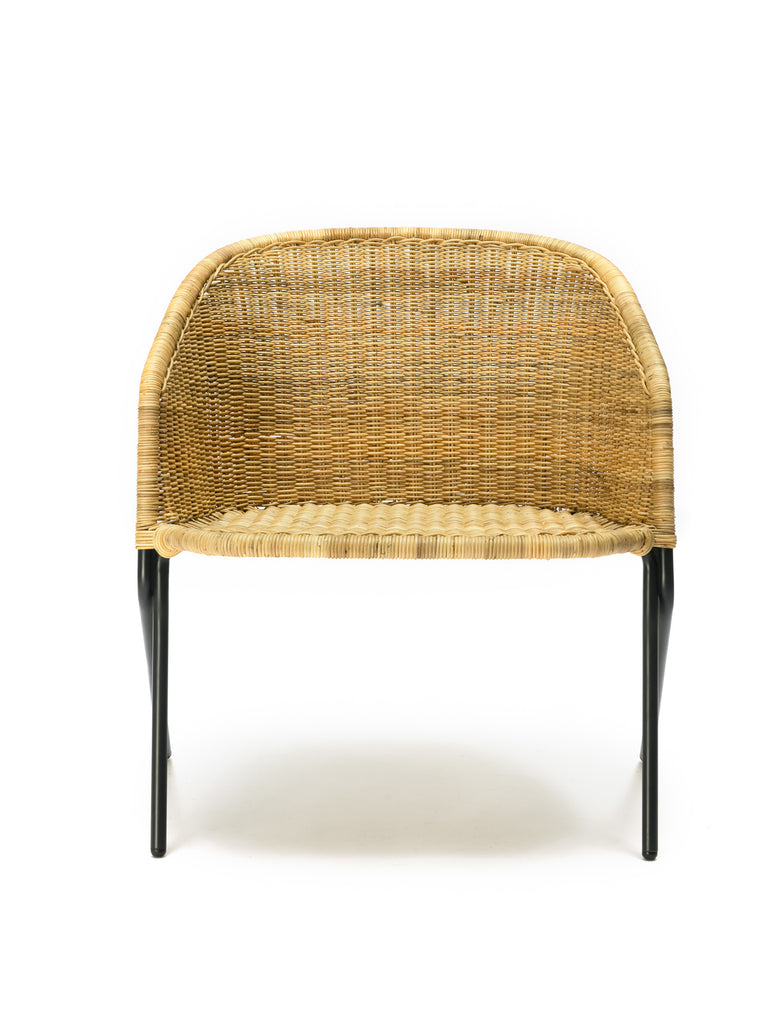 Kakī lounge chair (natural) front