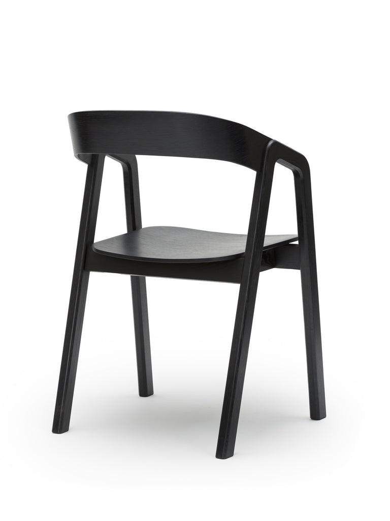 Valby (black) back angle