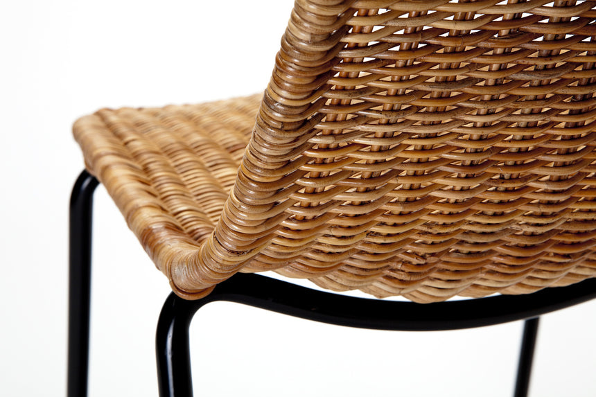 Basket chair (rattan pulut) close up