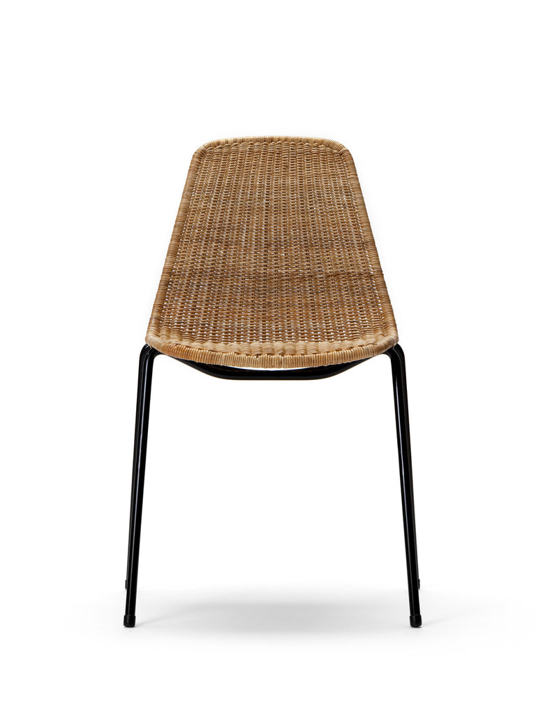 Basket chair (rattan pulut) front