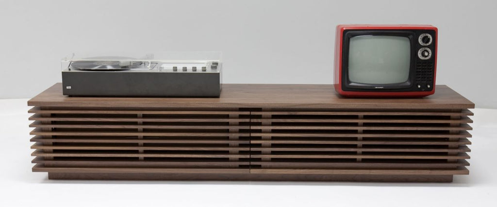 Line Series TV Media Console 70 TV Unit by Nathan Yong - Feliz