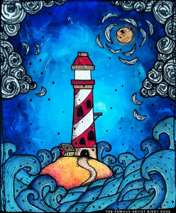 A Lighthouse The Famous Artist Birdy Rose
