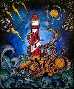 A Kraken Lighthouse