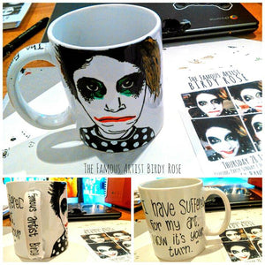 The Famous Artist - Bespoke Hand Painted Mug