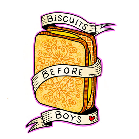 Biscuits Before Boys T-Shirt