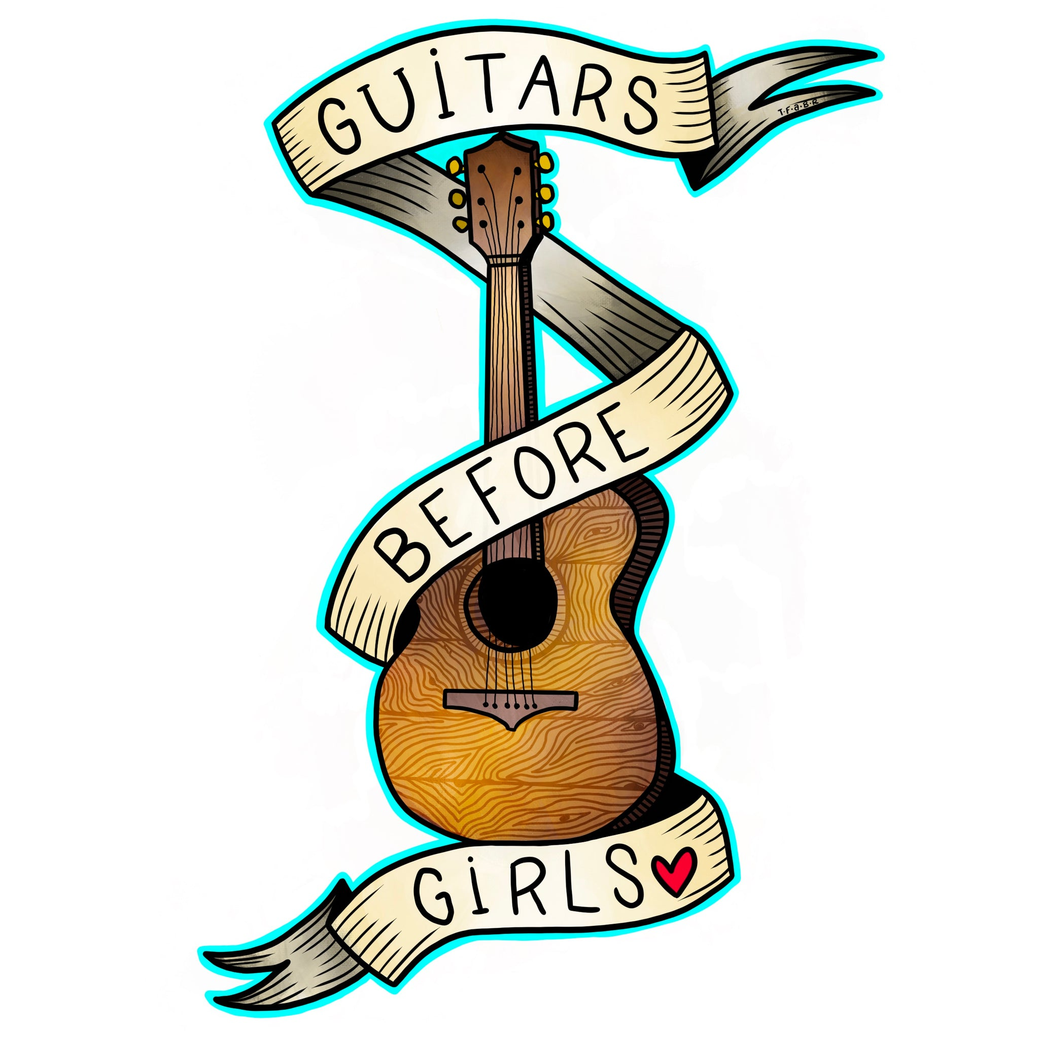 Guitars Before Boys T-Shirt